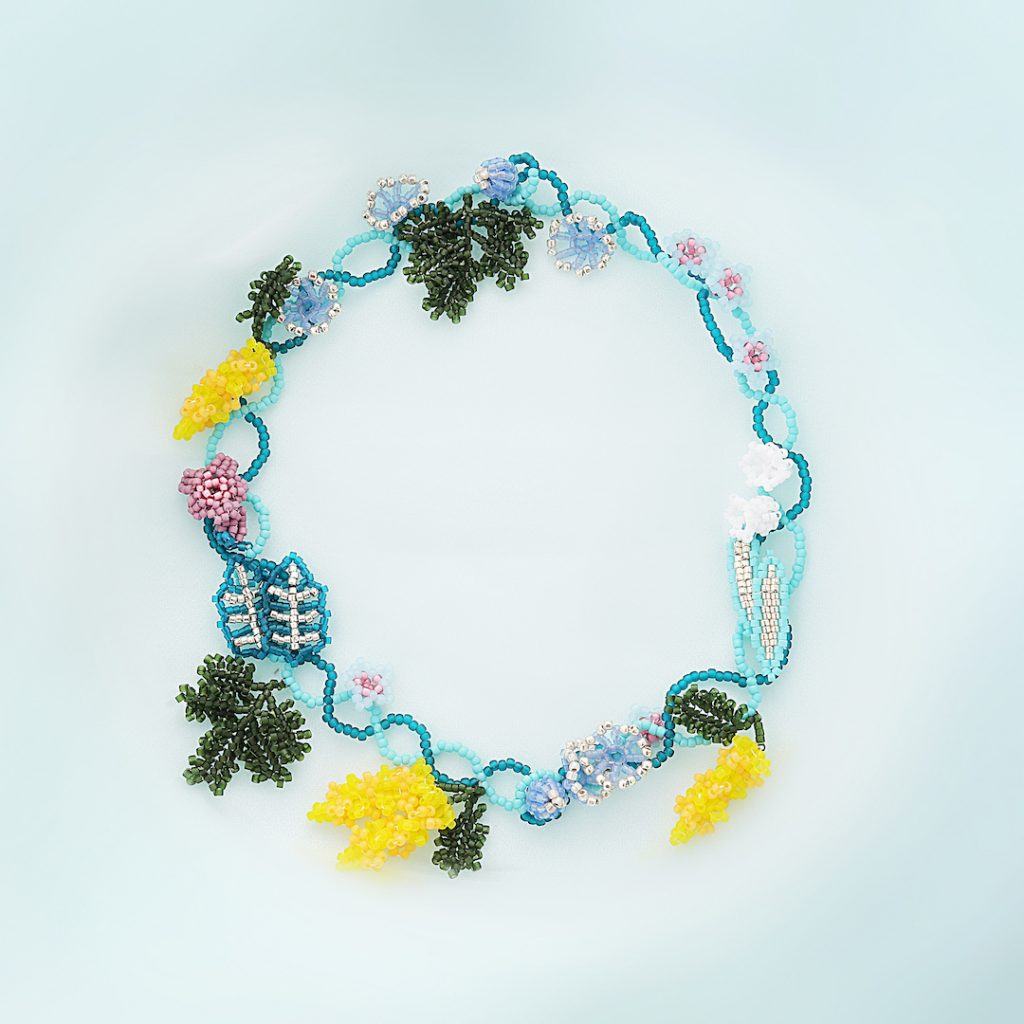 花をあむネックレススタイル写真