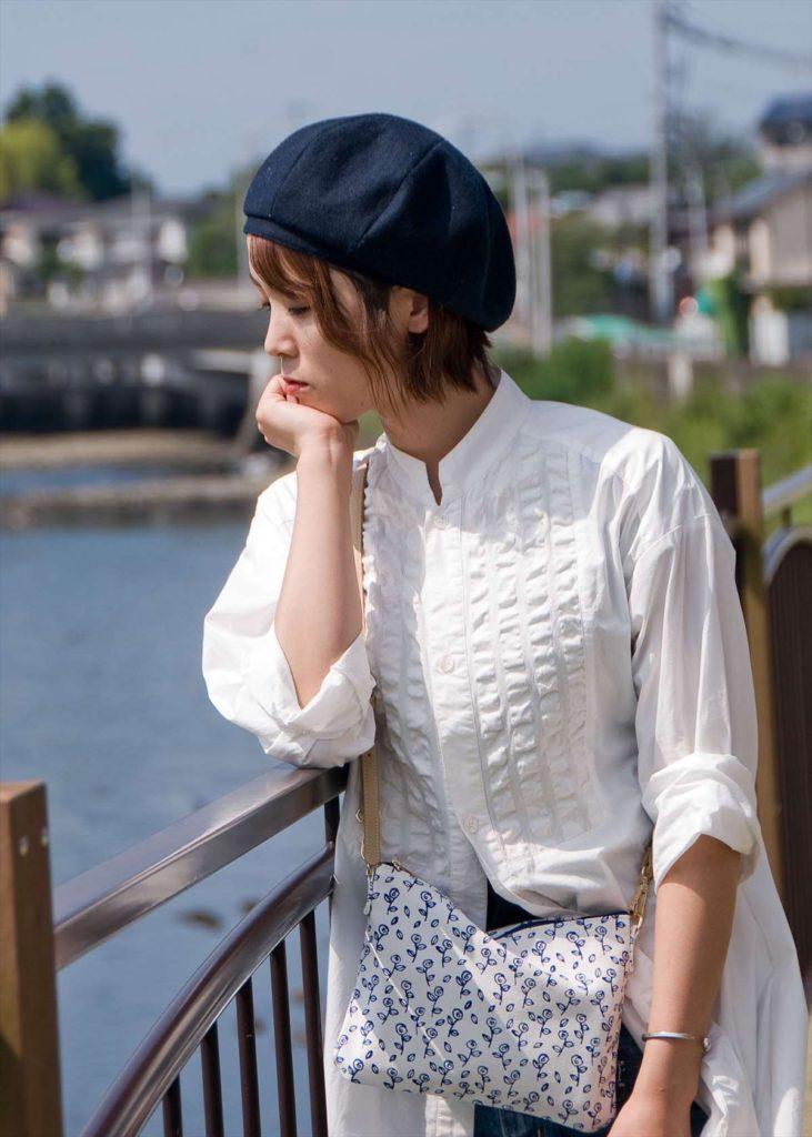 サコッシュ / バラ キャンバス素材カラー写真02