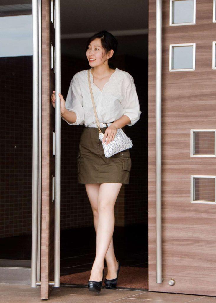 サコッシュ / バラ キャンバス素材カラー写真03