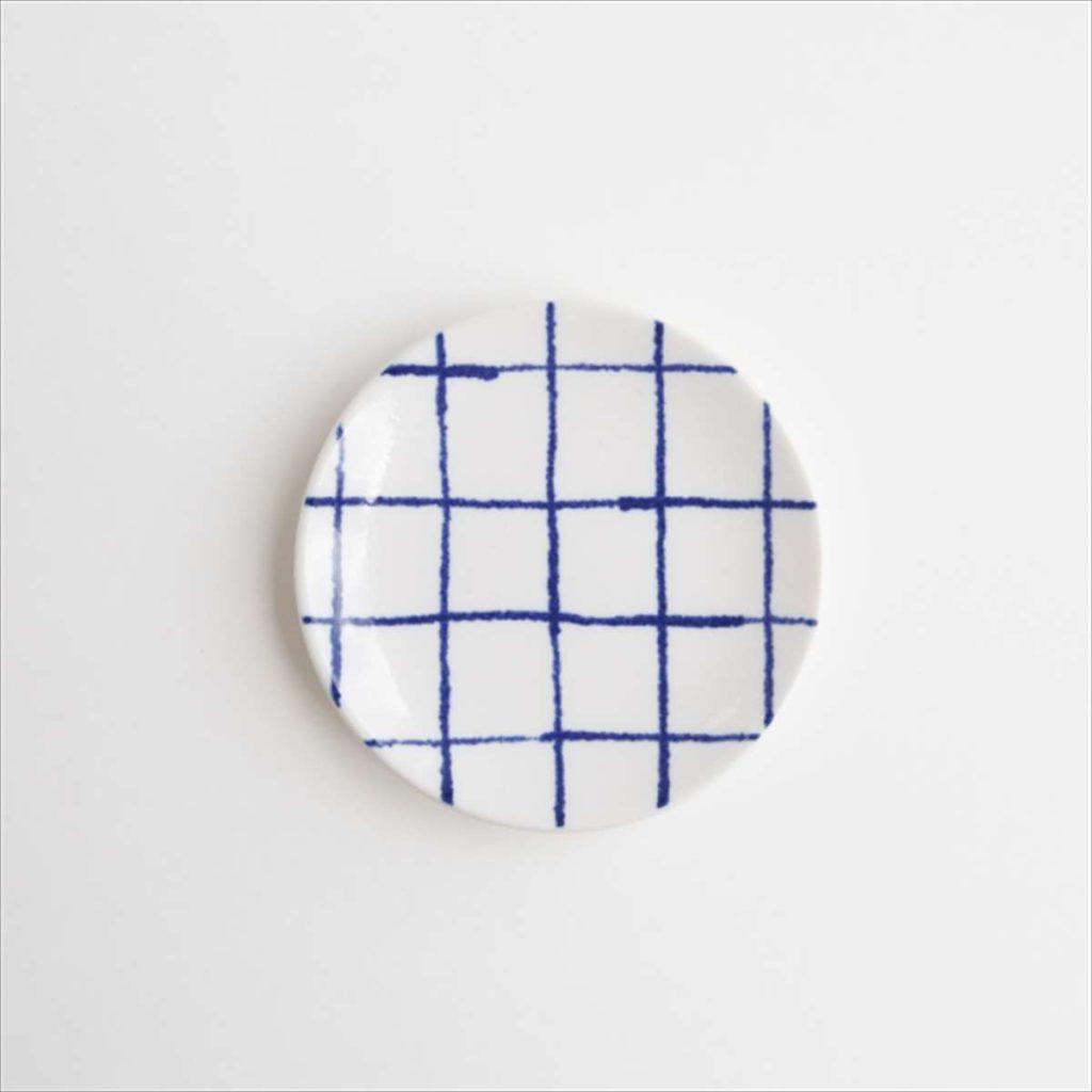 豆皿(瀬戸焼)/ チェックスタイル写真