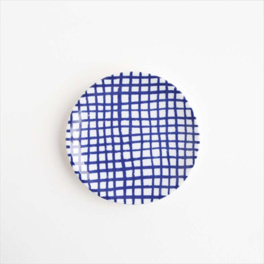 豆皿(瀬戸焼)/ チェック細スタイル写真