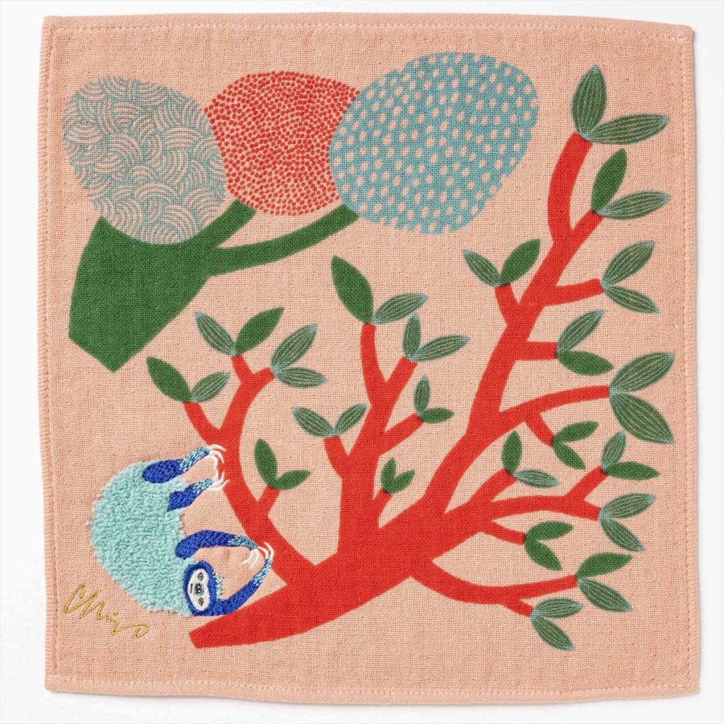 樹木ナマケモノスタイル写真