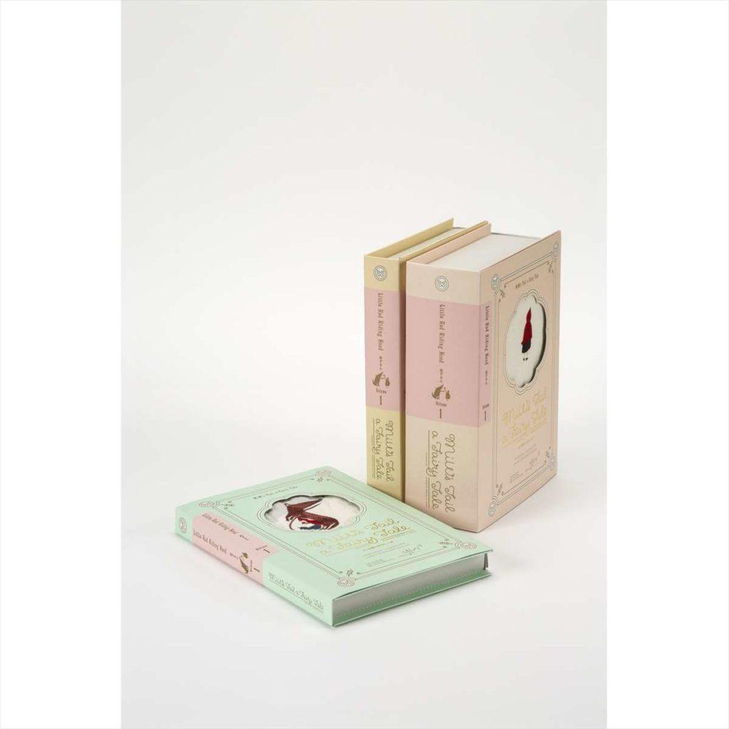 オオカミと赤ずきんの話 GIFT BOOK 3セットスタイル写真