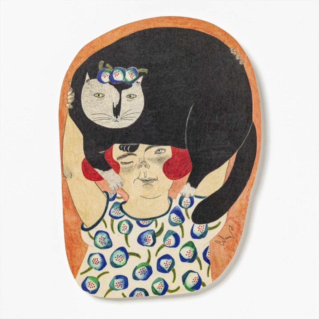 ポストカード 愛しのチェニ 13.5 x 19.5cm M-67986-00-1スタイル写真