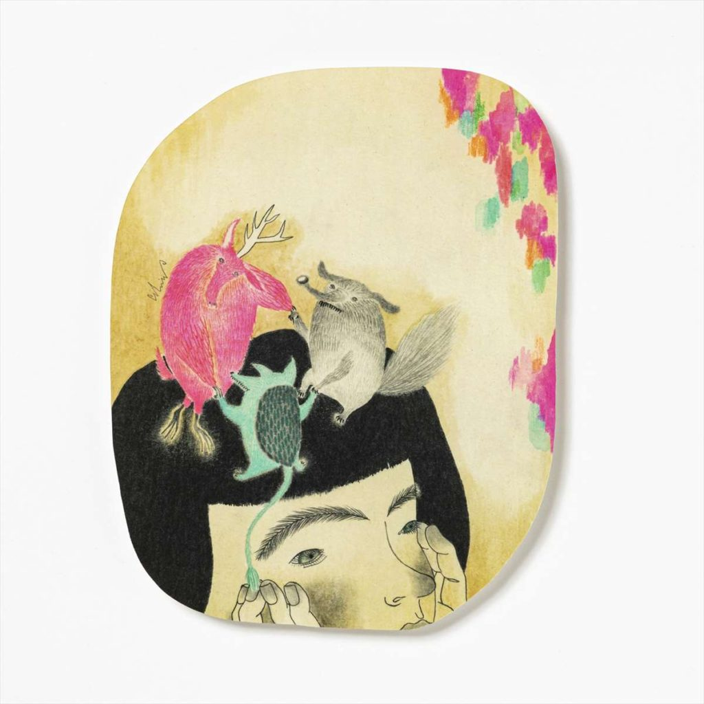ポストカード 頭上でワルツ 13.5 x 19.5cm M-67989-00-1スタイル写真