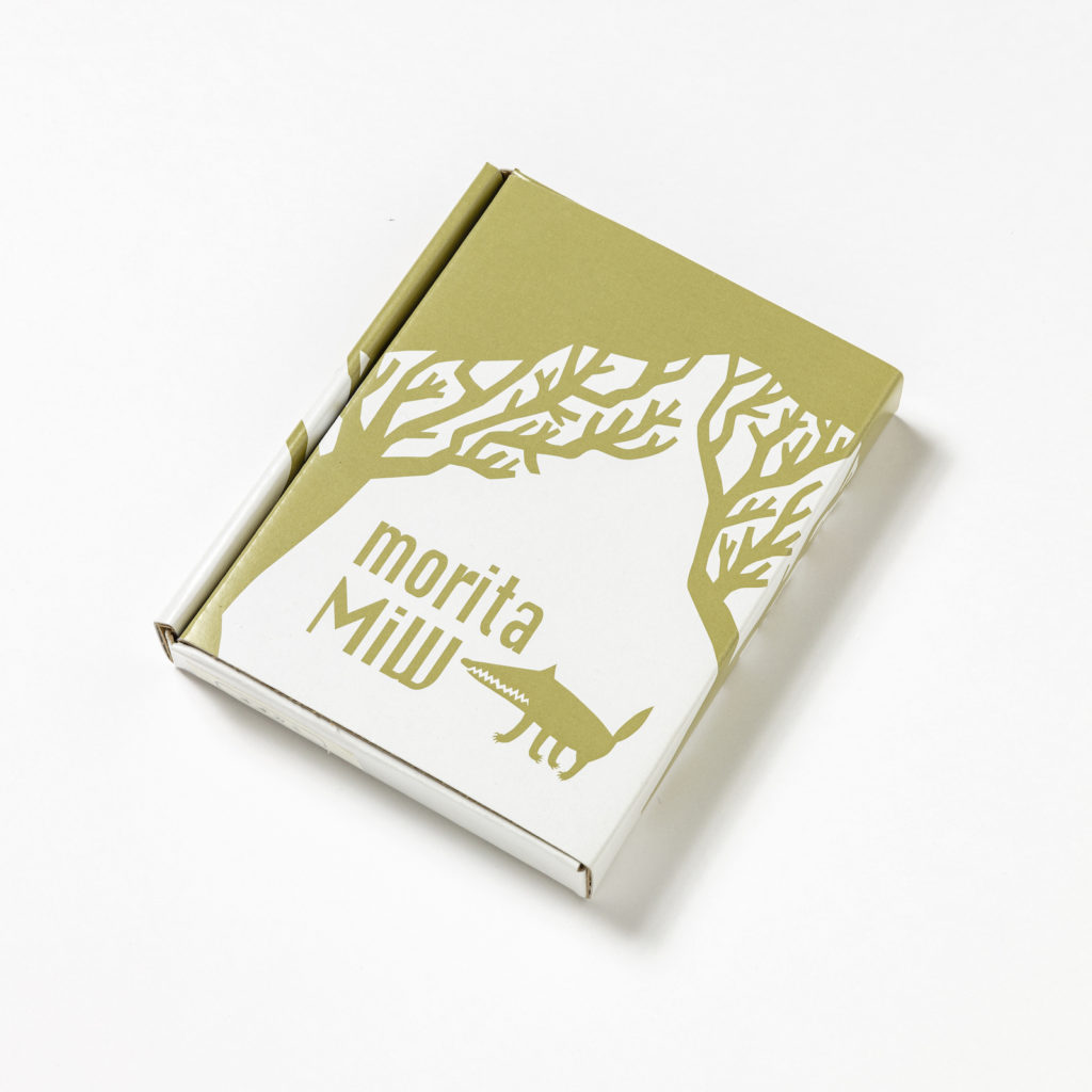 MiW 小皿 / 森の入り口の狼 M-67956-00-2カラー写真02
