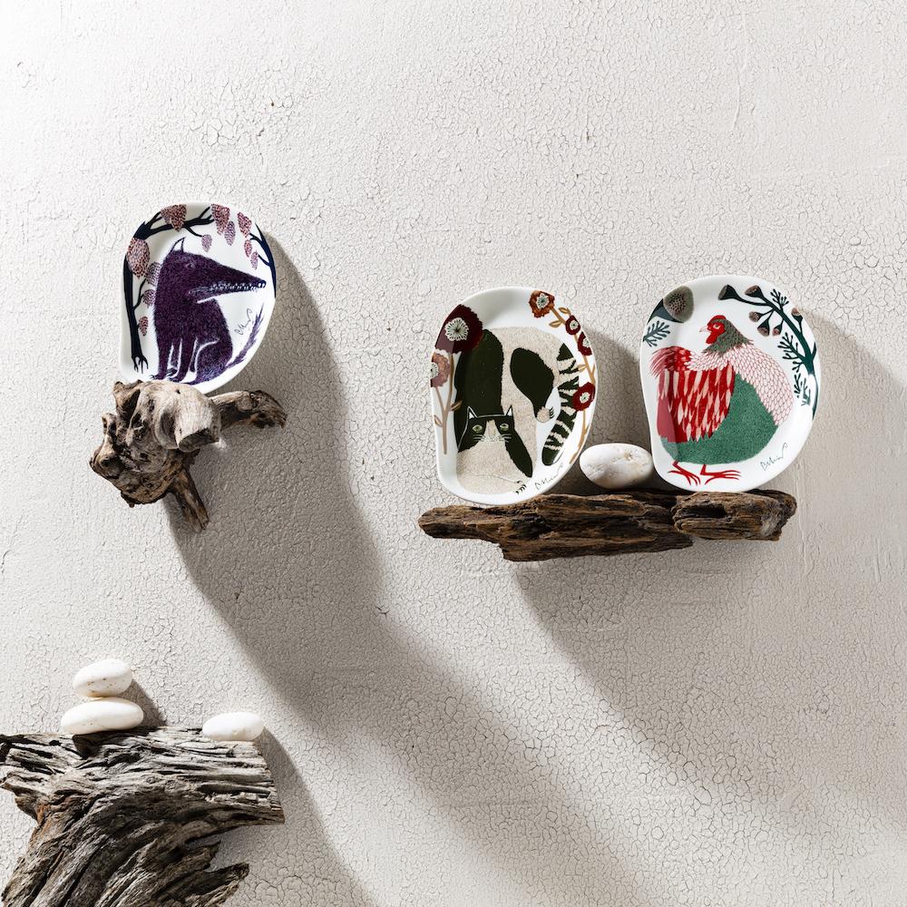 moritaMiWからアートな小皿が発売です