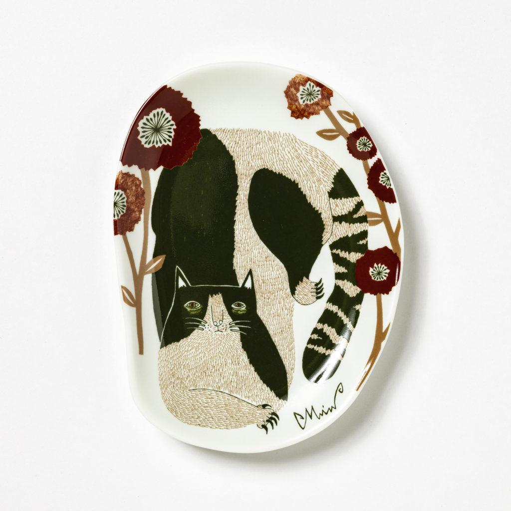【Morita MiW】 MiW 小皿 / 空き地の陽だまりの猫 M-67957-00-2スタイル写真